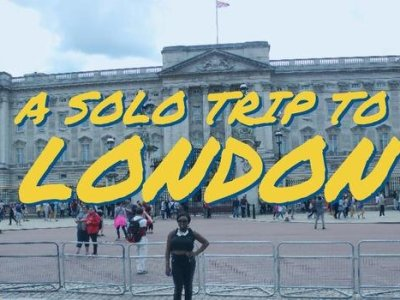 A Solo Trip to London